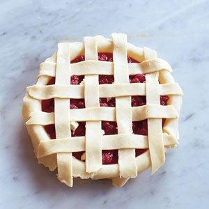 Weaving a Pie Crust