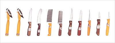 Garnishing Knives Set