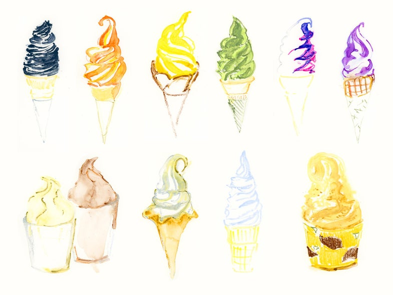 Eat Your Way Through Japan With Ice Cream