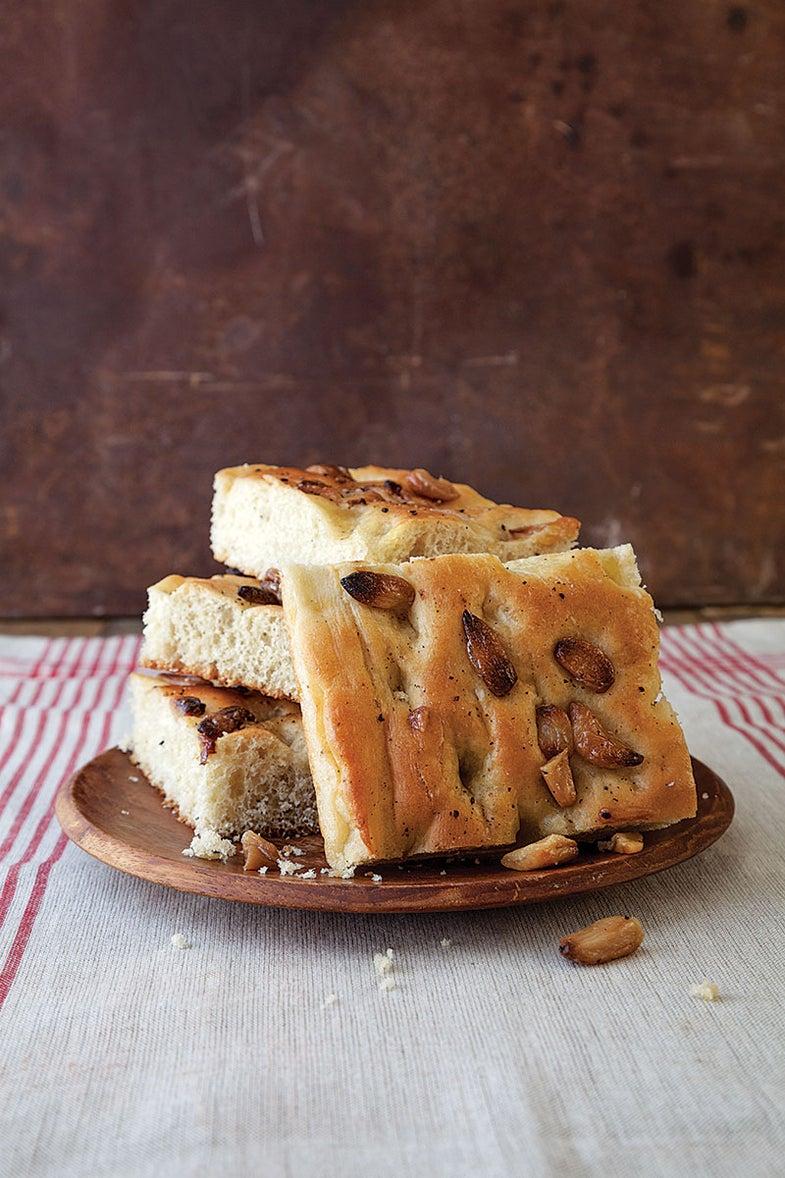 Roasted Garlic Focaccia