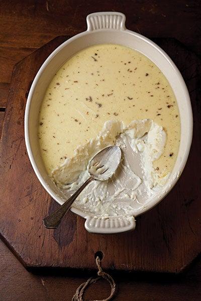 Vanilla-Rum Custard (La Tart)