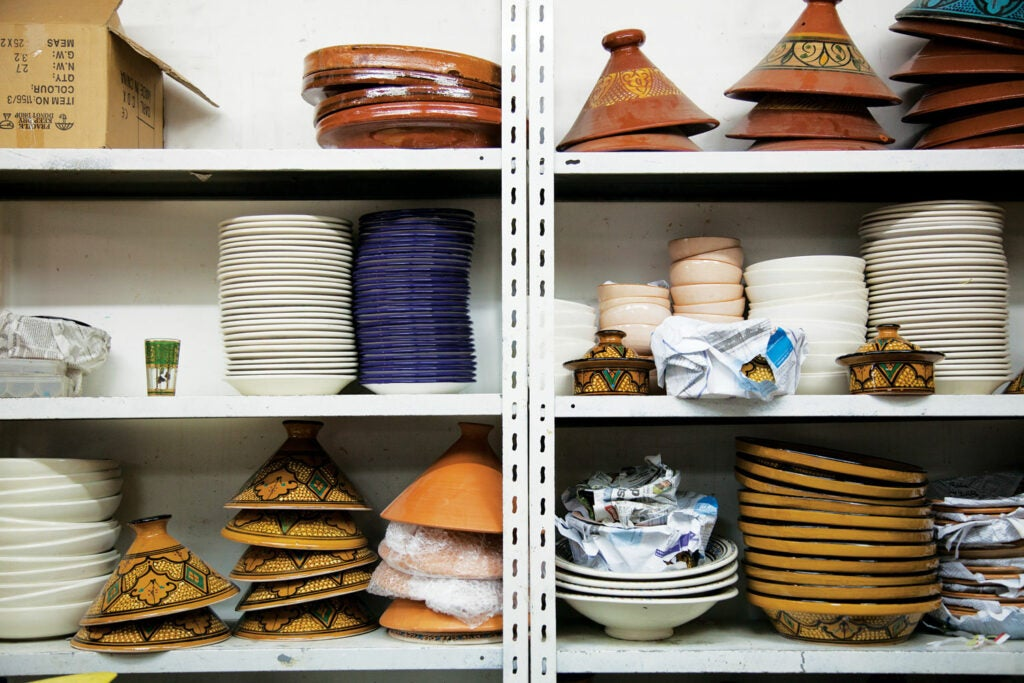 Tagines and other dishes