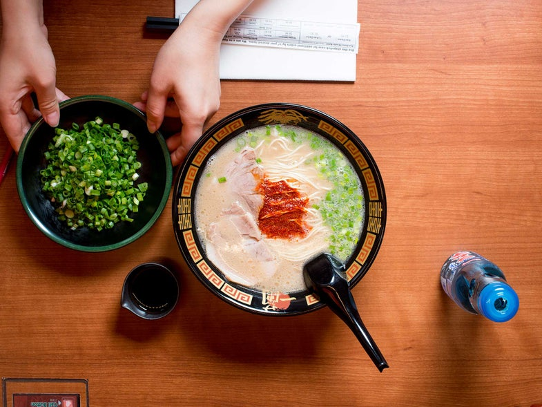 Japan's Wildly Popular Ramen Isolation Booth Restaurant Has Come to America