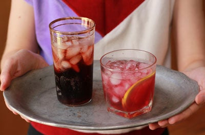 Friday Cocktails: Spanish Red Wine Spritzers