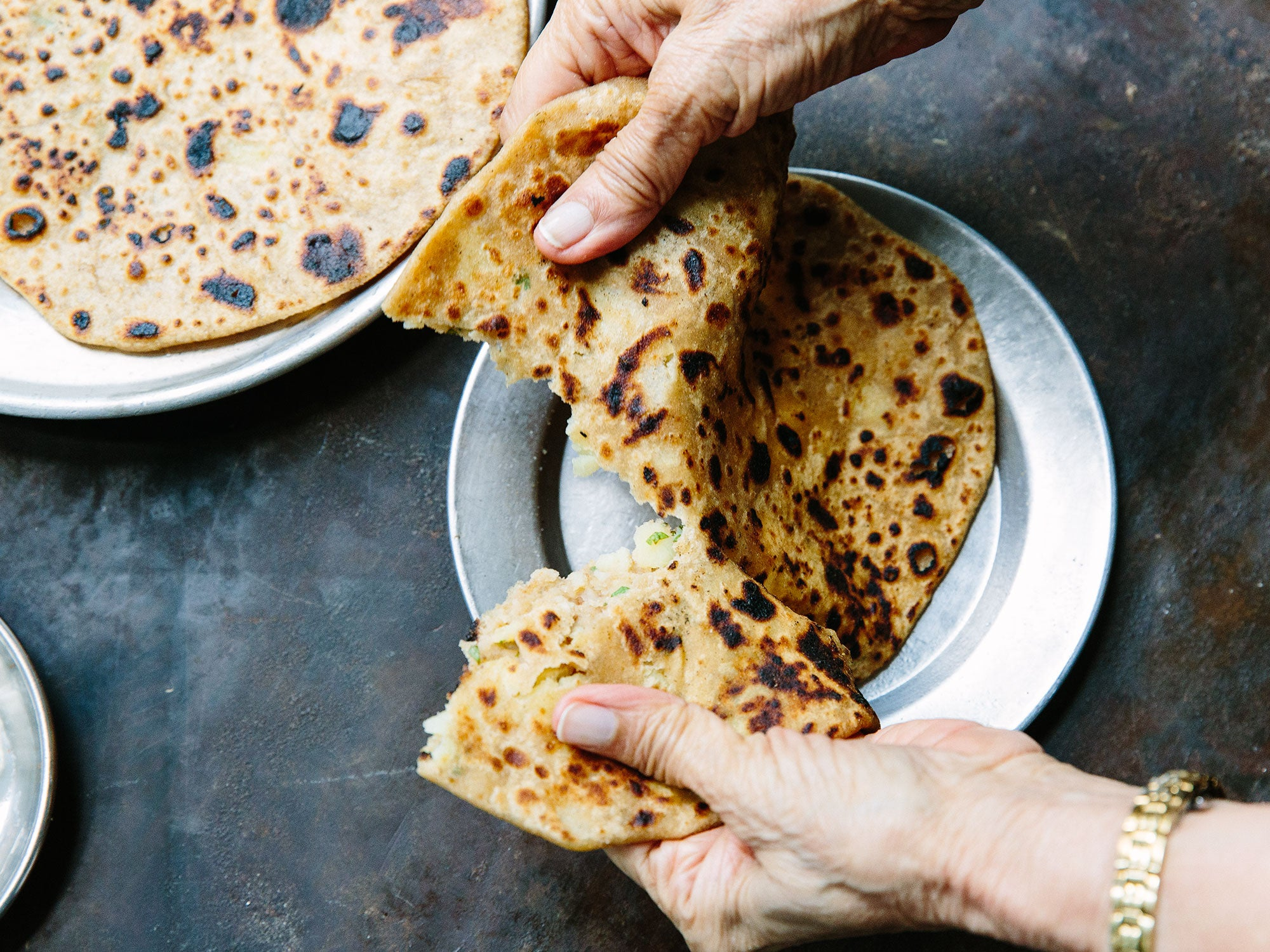 Madhur Jaffrey's Secrets to Perfect, Paper-Thin Parathas