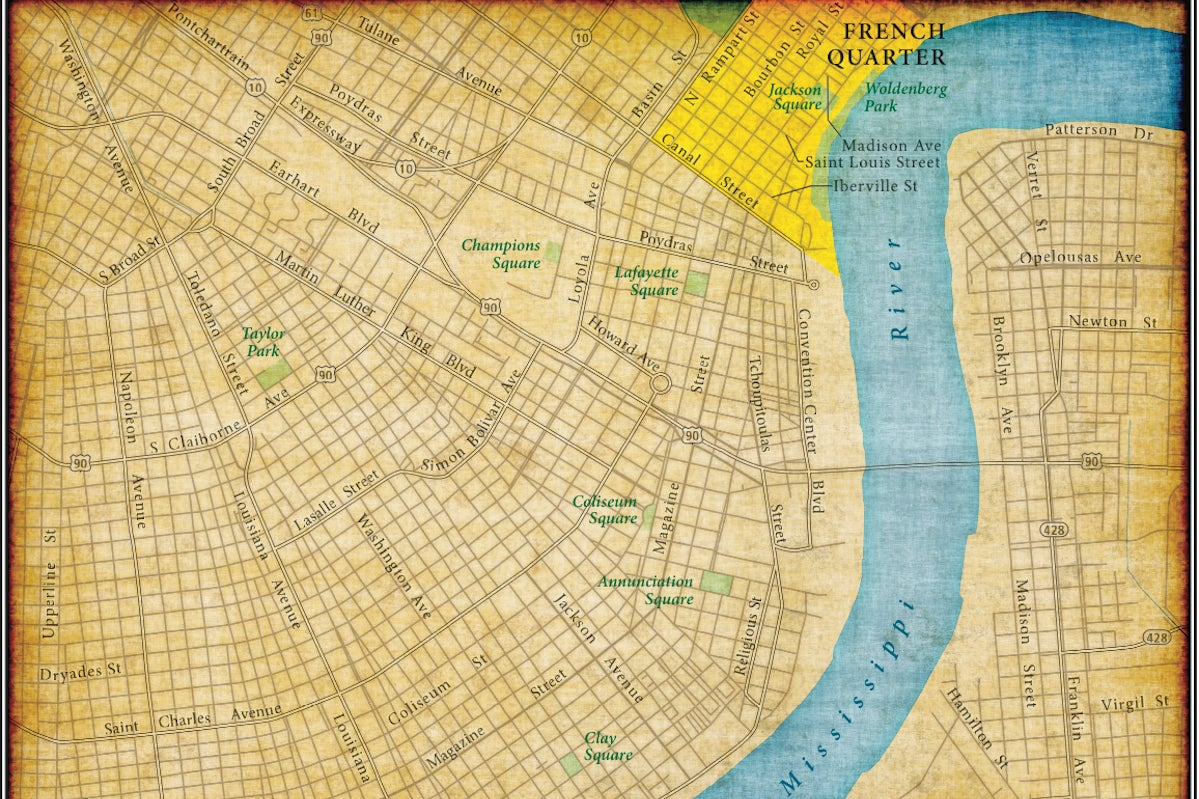 Travel Guide: Classic New Orleans