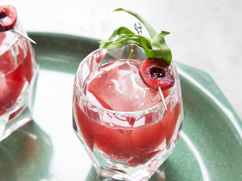 Sweet Summer Cherries Deserve a Place in Your Drink