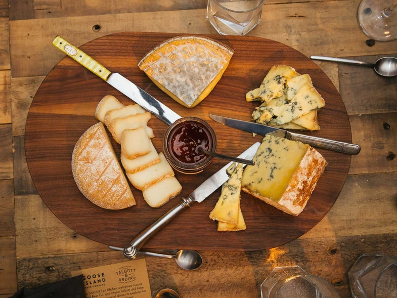 Goose Island Beer and Cheese Pair Up in the Saveur Test Kitchen