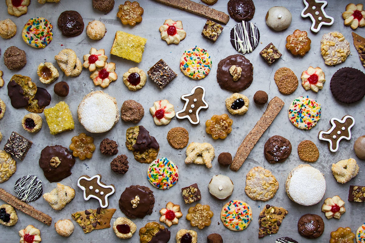 Menu: A Holiday Cookie Swap