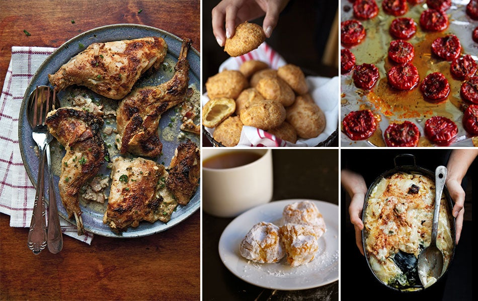 Menu: A Rustic French Meal