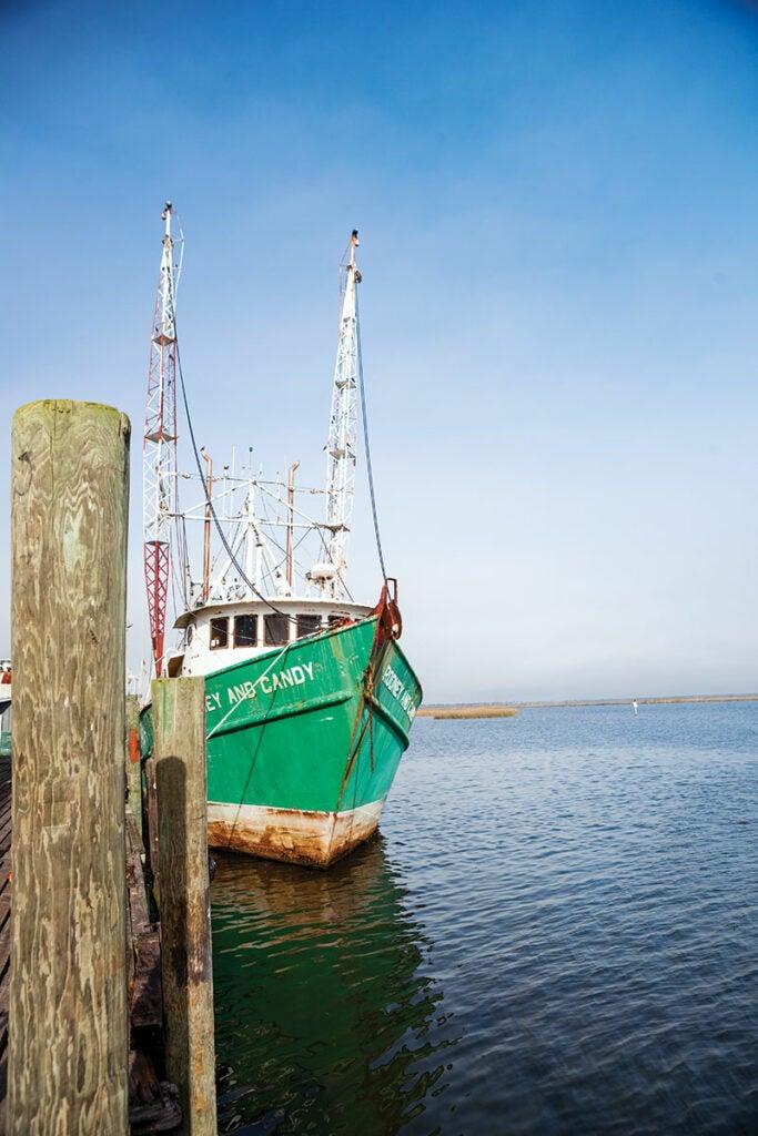 Apalachicola Fishing Boat