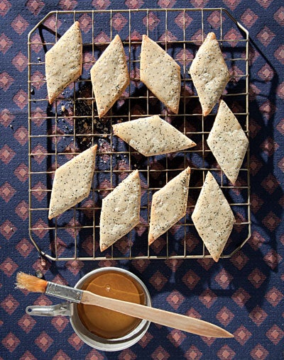 Poppy Seed-Honey Cookies (Pirishkes)