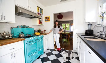 I Love My Kitchen Because: Big Blue
