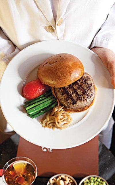 21 Club Hamburger