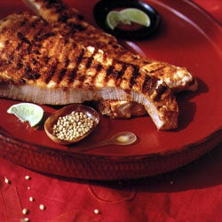 Spicy Pan-Fried Fish Steaks