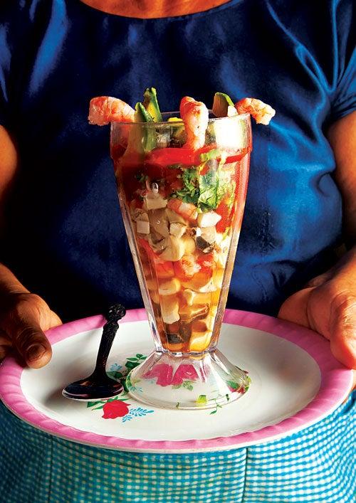 Seafood Cocktail (Coctel de Mariscos)