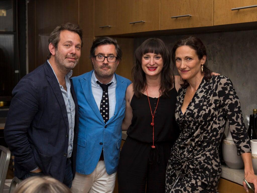 Editor in Chief Adam Sachs, writer Ben Schott, Saveur Digital Marketing Director Kimberly McNally, and Fathom's Pavia Rosati