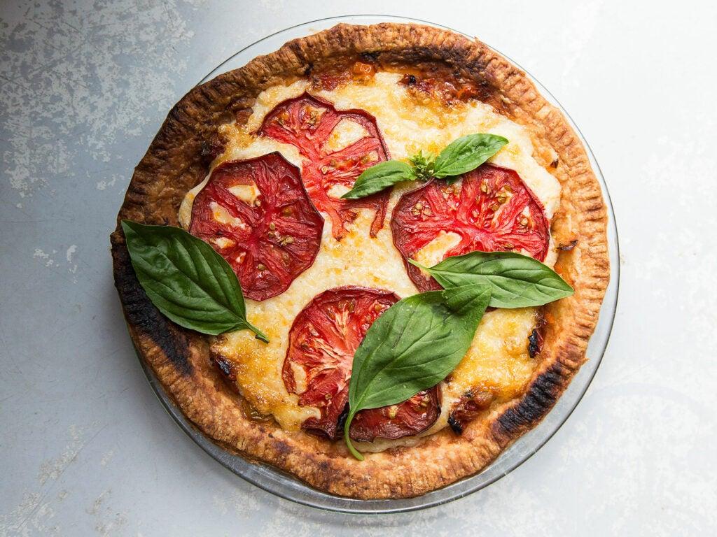 Vivian Howard Tomato Pie