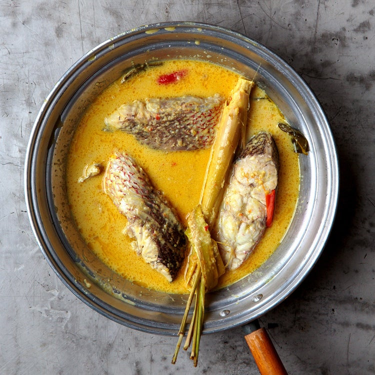Indonesian Red Snapper Curry