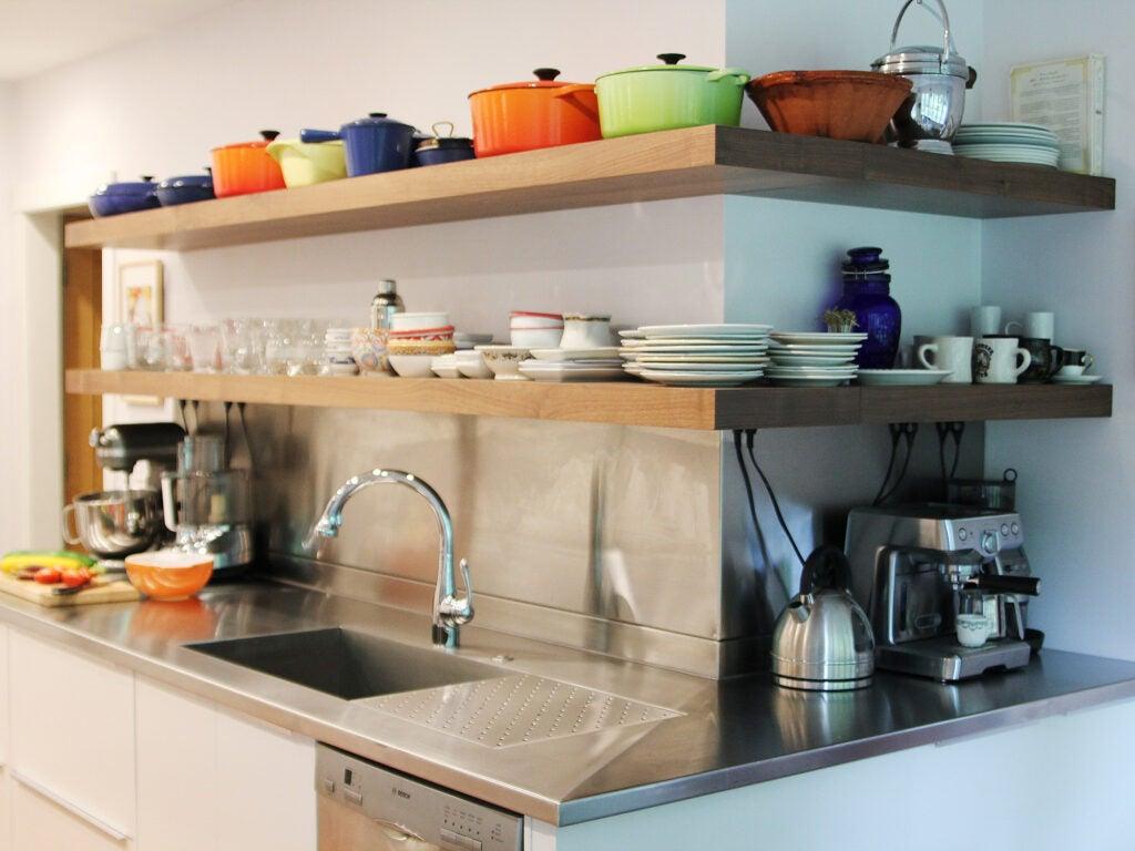 Cathy Barrow, Kitchen Renovation