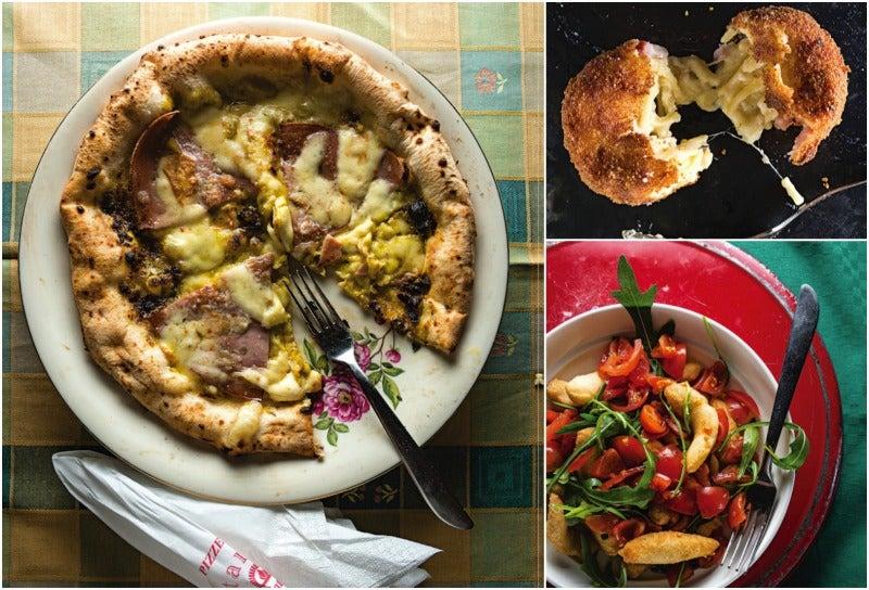 Menu: A Neapolitan Pizza Dinner