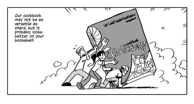Swiss Chard comic strip