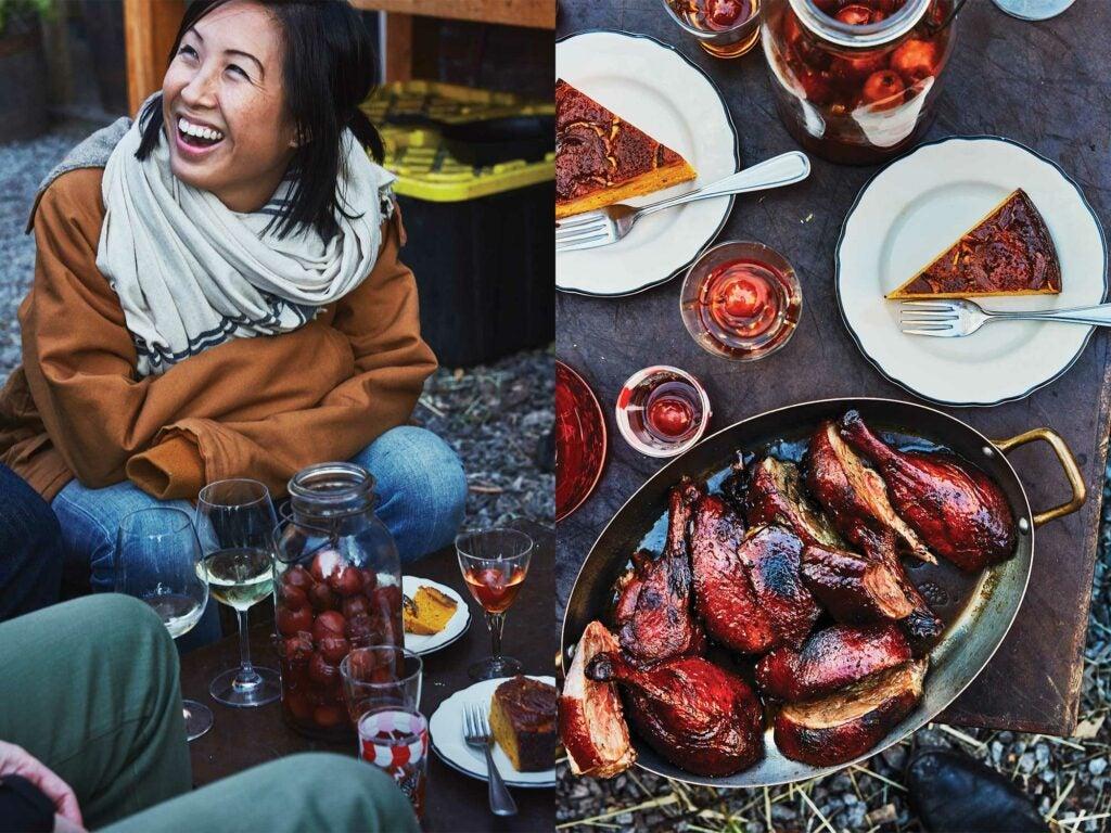 canadian winter grill spread