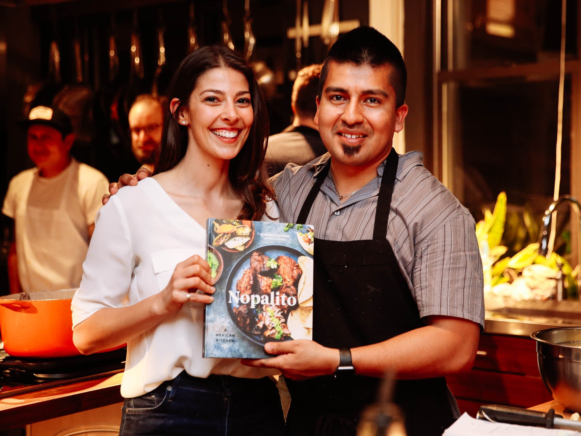 Scenes from our SAVEUR Supper With Gonzalo Guzmán