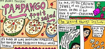 Recipe Comix: Malaka's Mom's Pampango Fruit Salad