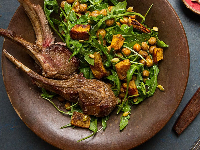 There's No Reason to Fear Rack of Lamb