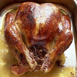 Turkey with Spiced Ground Pork Stuffing