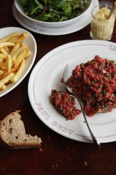 Tartare de Filet de Boeuf (Steak Tartare)