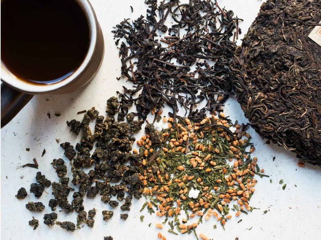 Teas for coffee drinkers