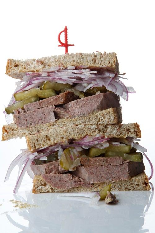 Stachowski's Braunschweiger Sandwich