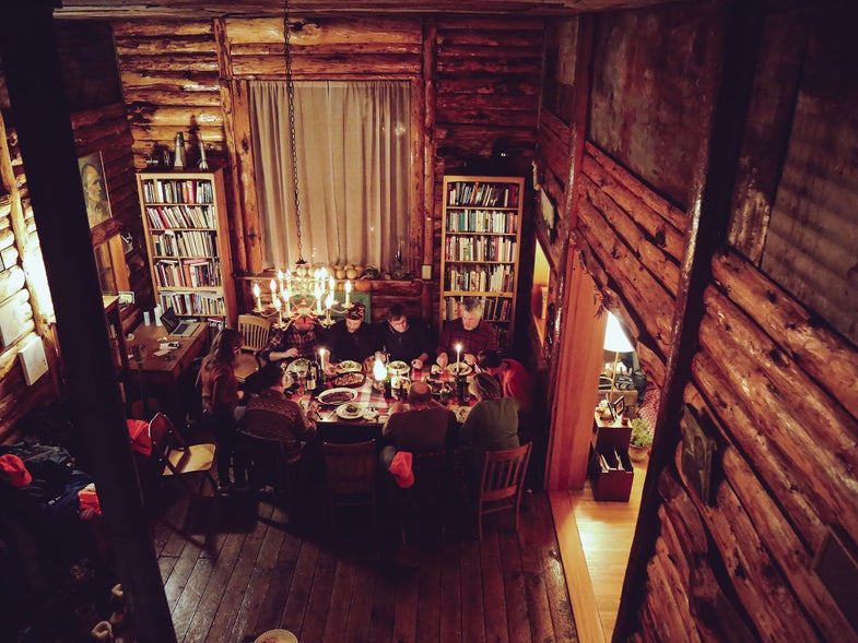 minnesota cabin thanksgiving