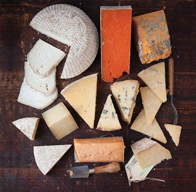 English Artisan Cheeses