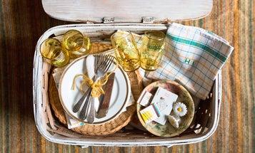 One Good Find: Custom Vintage Picnic Basket Set