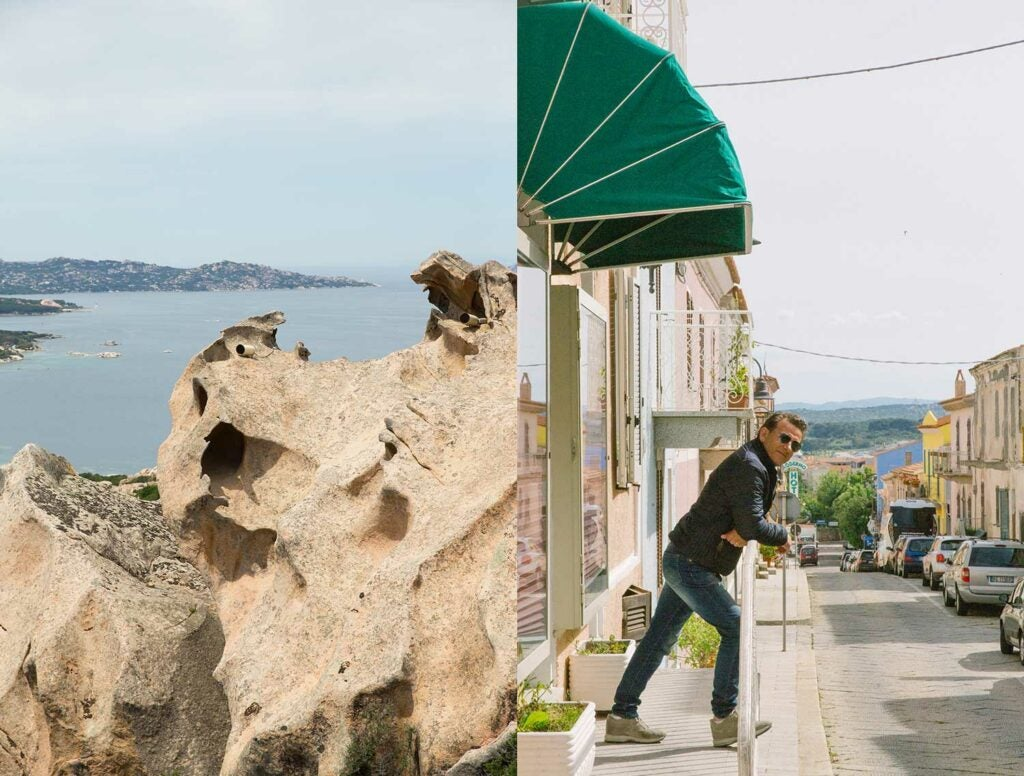 Sardinia is a place where most locals live in small towns folded into the mountains