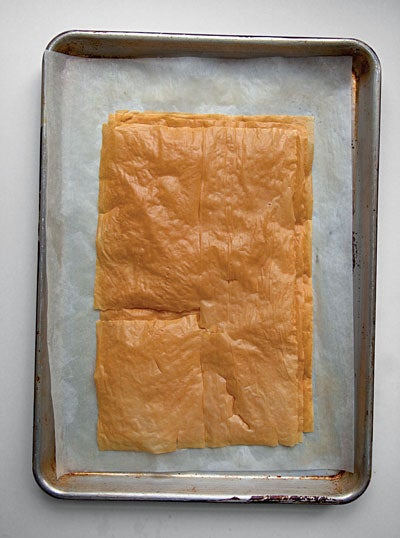 Different Types of Phyllo Dough