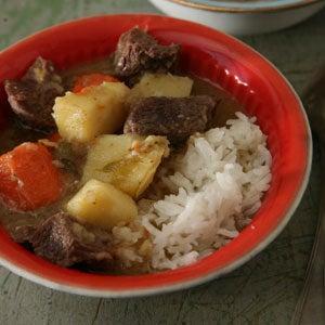 Tibetan Beef and Potato Stew