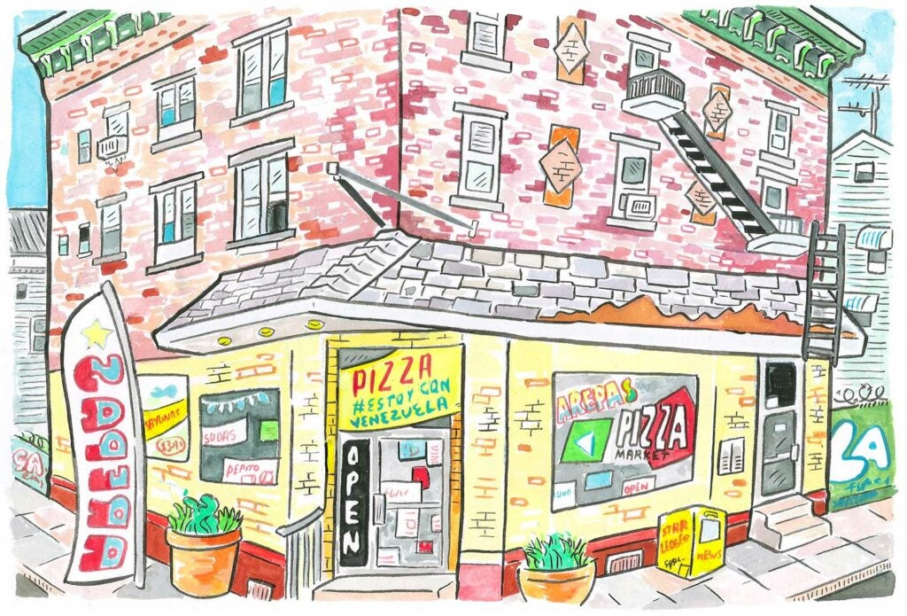 Pizza Market & Arepas