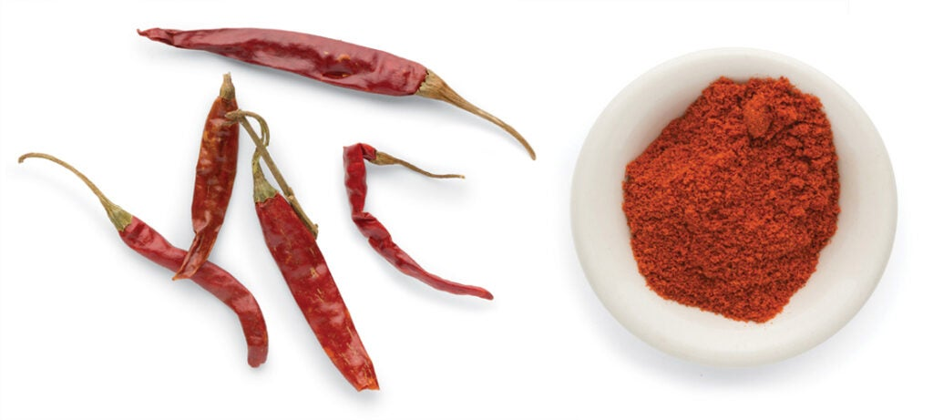 Indian chile peppers
