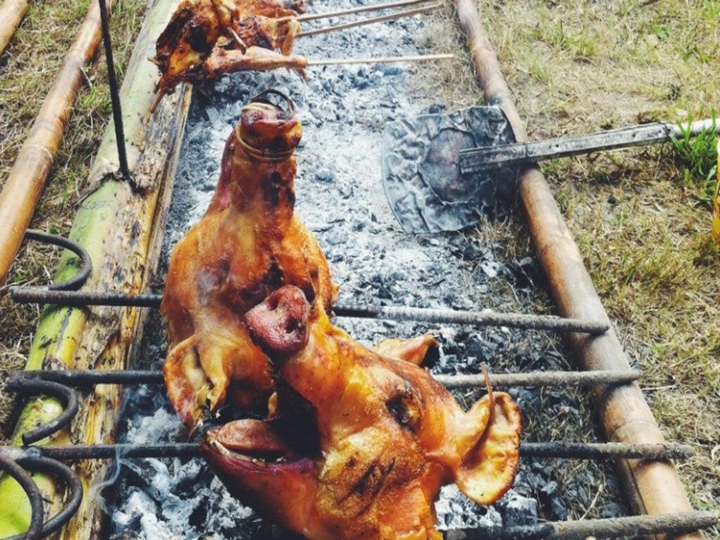 Backyard BBQ in Manila, Philippines