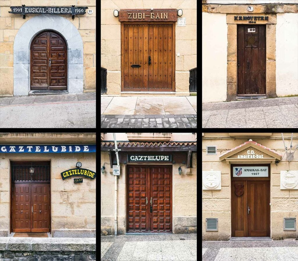 private kitchen doors of spain