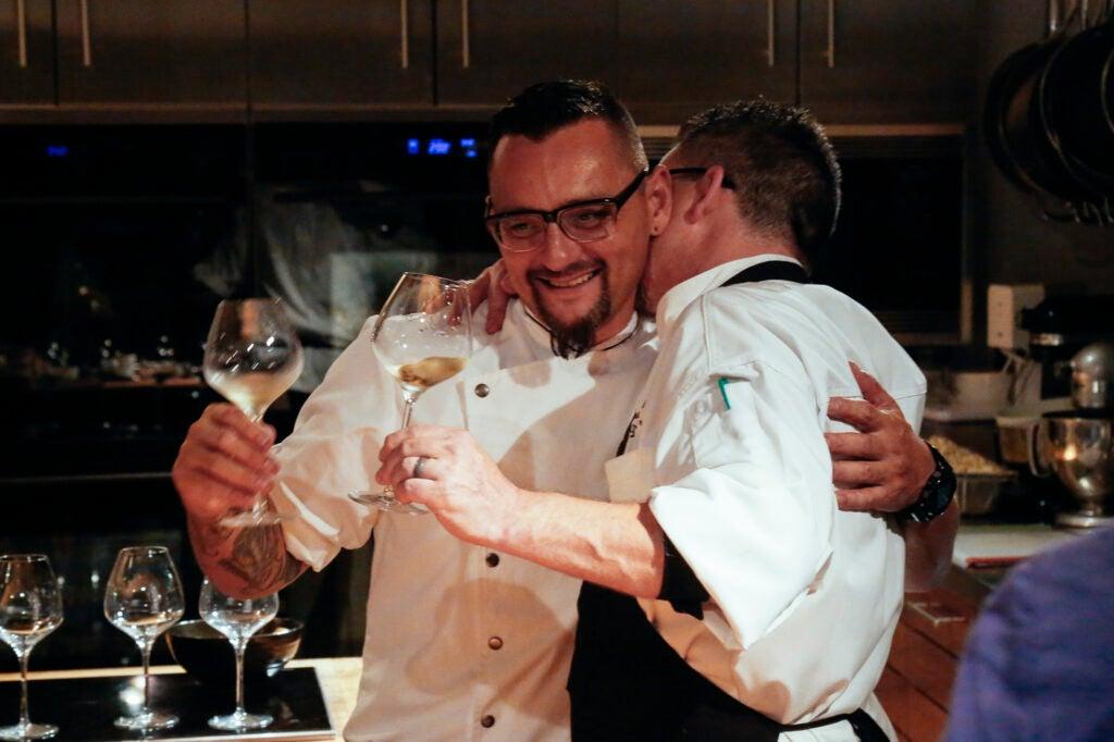 Chefs David and Chris Frakes
