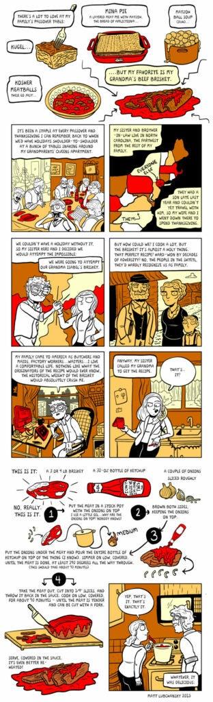 Passover Brisket Comic