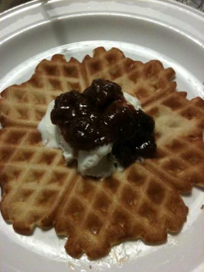 March 25 is Waffle Day (Våffeldagen)
