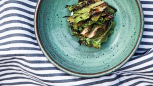 Charred Escarole Salad