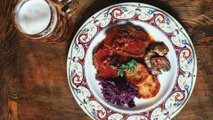 Cider Braised Red Cabbage or Sauerbraten