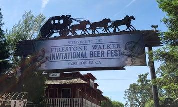 Ticking Beer at the Firestone Walker Invitational